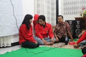 Sambutan pak Arief Jananto, S.Kom, M.Cs (ketua program studi Sistem Informasi)